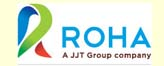 roha logo client of kanath pharmaceutical machinery manufacturers in mumbai